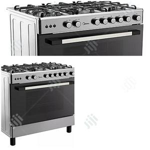 Midea 5 Gas Burners Gas Cooker( 90 X 60 ) 36LMG5G028- Silver