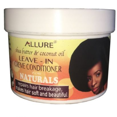 Allure Shea Butter& Coconut Oil Leave-in Conditioner (Natural Hair)
