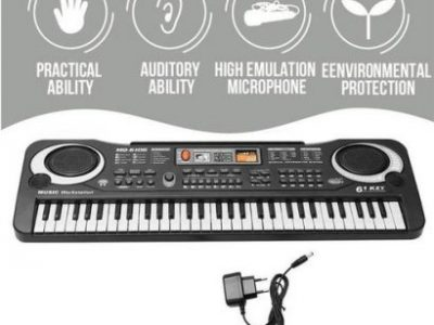 61 Keys Music Electronic Key Board Child Piano Gift