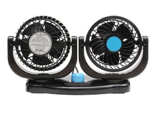 12V Car Fan Portable Vehicle Truck Van 360 – Auto Cooling