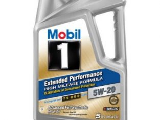 Mobil 1 Extended Performance High Mileage Formula – 5W-20 – 4.7L