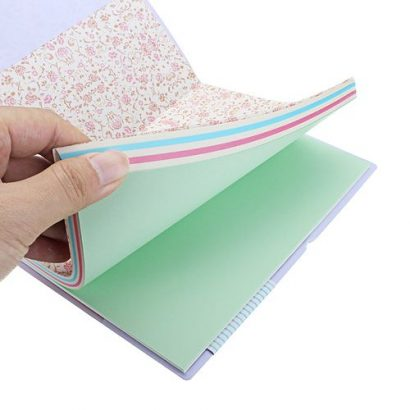 Candy Colors Smiley Paper Diary Notebook