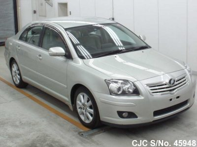 Toyota Avensis 2007 Silver