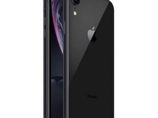 Apple IPhone XR (3GB RAM, 64GB ROM) – Black + Free Pouch