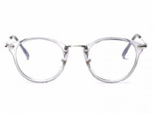 Round Reading Glasses – Grey