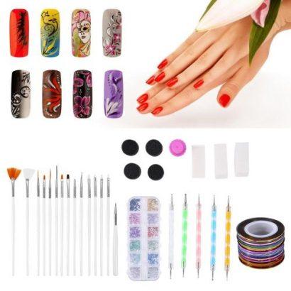 Nail Art Tools Kit Decoration Rhinestone Nail