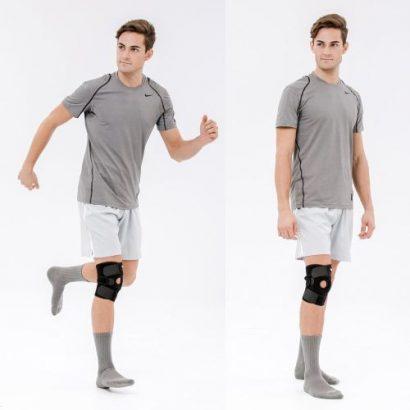 Knee Brace With Side Stabilizers & Patella Gel P