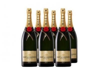 Moet & Chandon BRUT IMPERIAL 75CL X 6 Party Pack