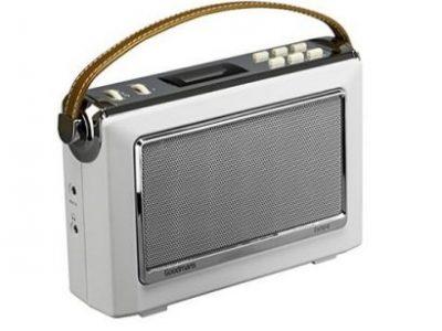Goodmans 1960's Vintage Style Digital & FM Radio Oxford 2 In Cream