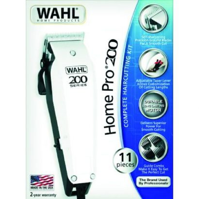 Wahl HOME PRO 200 : COMPLETE HAIR CUTTING KIT