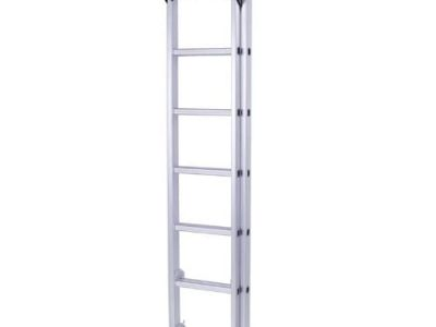 8 Steps Foldable Alloyed Aluminum Ladder – 7.4feet