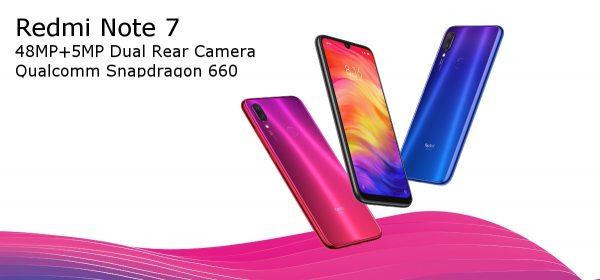 Xiaomi Redmi Note 7 4G Smartphone