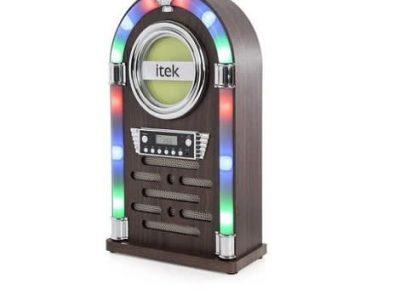 iTek Bluetooth Jukebox Station With Cd Player & Fm Radio