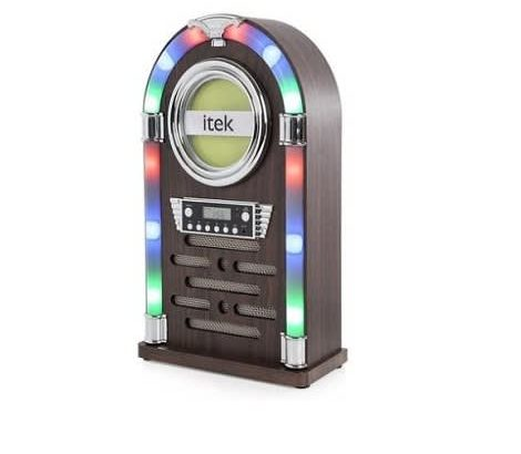 iTek Bluetooth Jukebox Station With Cd Player & Fm Radio