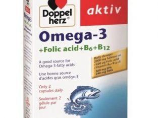 Doppelherz Aktiv Omega -3 60 Capsules