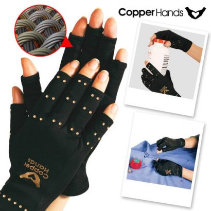 Copper Hands Compression Arthritis Gloves