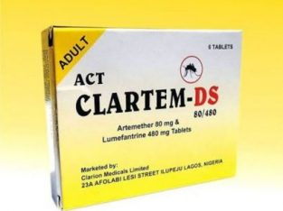 Act Clartem-Ds Anti-Malaria Drug