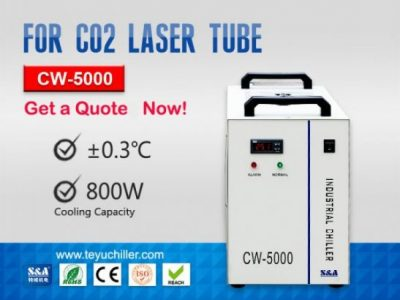 Portable Industrial Chiller Unit CW-5000