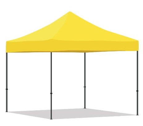 Foldable Gazebo Outdoor Party Pop Up Canopy Tent