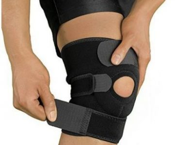 Knee Brace With Side Stabilizers & Patella Gel P