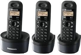 Panasonic KX-TG1611 Wireless Intercom Cordless Phone- 4 Pcs Configured