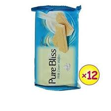 Pure Bliss MILK CREAM WAFERS. 45g (12Pieces)