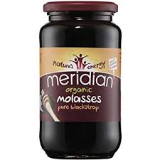 Meridian PURE ORGANIC BLACKSTRAP MOLASSES 740G (Unsulphured)
