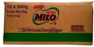 Nestle Milo Tin 500g – Carton X 12
