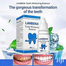 Lanbena Teeth Whitening Liquid Kit That Removes Dental Stains
