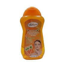 VEET GOLD Carrot Whitening & Refreshing Skin Toner With SPF 15 For All Skin