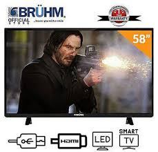 Bruhm 32-Inch BFP-32LETSW LED TV + FREE Wall Bracket