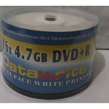Datawrite PACK OF 50 RECORDABLE DVD- BLANK DISCS ( DATAWRITE)