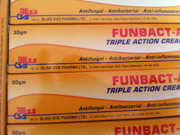 Funbact A Tripple Action Cream -3pcs