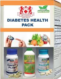 Swissgarde supplements Diabetes Cure Pack