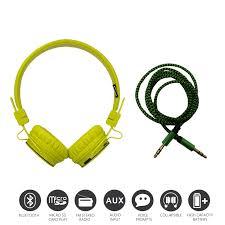 NIA X3 Bluetooth Headphone FM And SD Slot