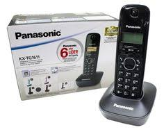 Panasonic KX-TG1611 Wireless Intercom Cordless Phone- 4 Pcs Configured