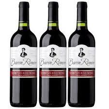 Baron Romero Spanish Wine VIN ROUGE RED WINE (750ML)
