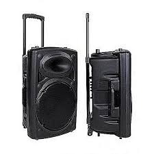 Rechargeable Public Address System