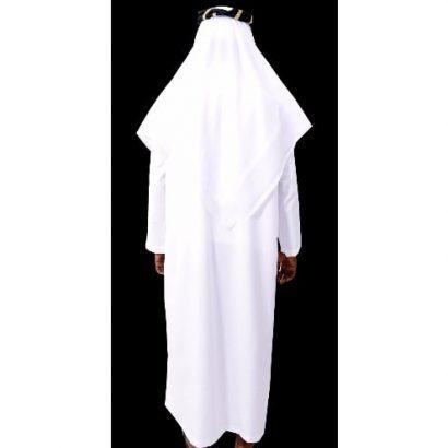 Jalamia – Full Arabian Attire – White