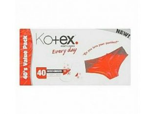 Kotex Deodorised Pantyliner 40pcs