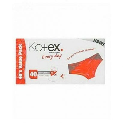 Kotex Deodorised Pantyliner 40pcs