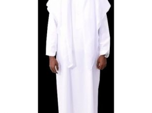 Jalamia – Full Arabian Attire – White