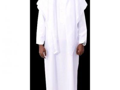 Full Arabian Attire – White