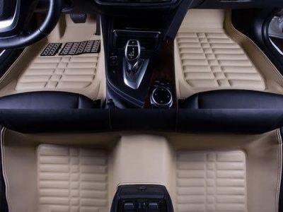 5D Car Floor Mat, Car Foot Mat, Suv Customized Carpet – Cream