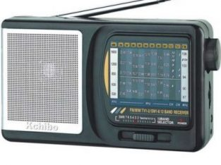 Kchibo KK-9812 – 12 Band FM Radio TV World Reciever