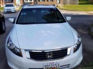 Honda Accord 2008 Model white
