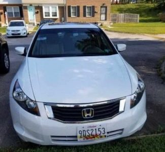 Honda Accord 2008 Model white