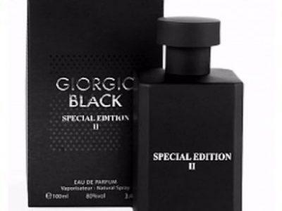 Giorgio Black Special Edition 11 Edp 100ml Perfume For Men