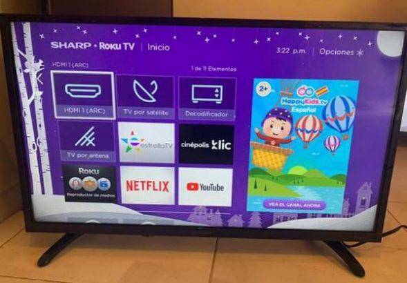 Hisense 43 inches smart TV