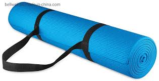 Yoga Mat With Carrier Bag